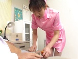 Wild Asian nurse enjoys serving her horny patients picture 14