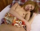 Amateur Asian teen, Kumi Sakura, pounded really hard picture 54