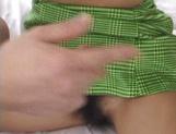 Horny Japanese chick, Mami Miyamoto, gets fucked with cocks and dildos