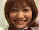 Japanese AV Model Enjoys Playing In Her Pussy With Her Toy picture 14