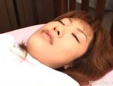 Japanese AV Model Has A Hairy Pussy Up For Fucking