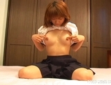 Japanese AV Model Is A Horny Gal Who Enjoys Pleasuring Herself picture 7