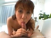 Japanese Cocksucker Kaori Swallows Man Goo Just Like A Cum Hungry babe