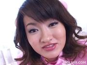 Japanese Nurse Sucks and Cum Swallows For Fun