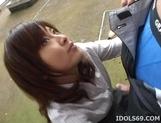 Kana Shimada Outdoor Blowjob Japanese Thrmp Likes It Outdoors