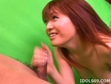Kaomi Amamiya Blowjob Fingering Japanese Tramp USes Her Pussy And Mouth FOr Fun