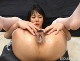 Konomi Sakura Hot Tight Ass Japanese Tramp Likes To Flaunt Her Wares
