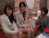 Minato Riku, Asian teen enjoys lesbian experience picture 13