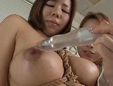 Horny Kitagawa and Sara bang each other hard