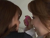 Horny Kitagawa and Sara bang each other hard