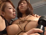 Amazing Kitagawa and Sara enjoy lesbian fuck picture 14