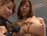 Amazing Kitagawa and Sara enjoy lesbian fuck picture 15