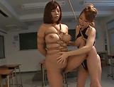 Amazing Kitagawa and Sara enjoy lesbian fuck