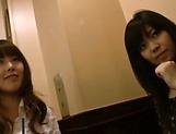 Cute Tokyo babes enjoy fingering wet pussy