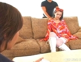 Maria Ozawa Horny Asian Teen Is Fucked By Two Guys picture 5