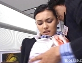 Maria Ozawa Hot Asian Stewardess Gets A Fucking From Behind picture 13