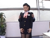 Maria Ozawa Hot Asian Stewardess Gets A Fucking From Behind