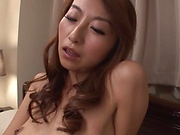 Naughty Japanese AV Model awakens and masturbates
