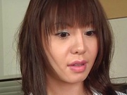 Ai Takeuchi sweet Japanese lingerie porn show