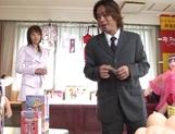 Juri Kano feels amazing durign hardcore porn show