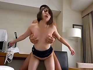 Amazing amateur honey gets a tenacious fuck
