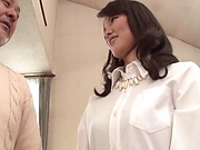 Misako Kumagai creamed after a sweet session