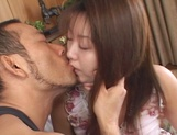 Mihi Anzai reveals her pussy for a horny guy picture 12