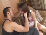 Mihi Anzai reveals her pussy for a horny guy picture 15