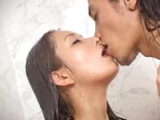 Alluring temptress Ruka Ogawa amazing shower sex