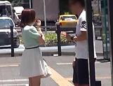 Japanese babe loves the buzzing vibrator.