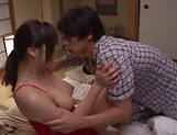 Appetizing Japanese milf enjoys steamy sex picture 15