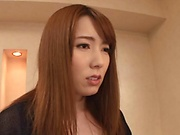 Hatano Yui gets her moist twat nailed doggy
