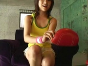 Lusty Ellie Akira amazing sex at the gym