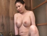 Big Tit Asian milf Sophia Takigawa in hot bath sex on voyeur cam