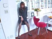 Sexy office POV fuck with naughty Naho Ozawa