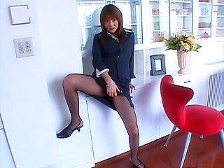 Sexy office POV fuck with naughty Naho Ozawa