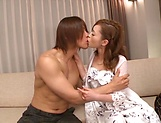 Rino Kirishima enjoys two dicks to slam her holes