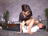 Sana Mizuhara enjoys a sensual pussy licking.