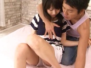 Milf with amazing juicy body Airi Mikami gets fucked and enjoys a facial load