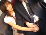 Kinkky public sex fro enchanting honey Riko Tachibana picture 14