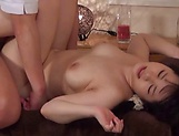 Big tits busty Asian milf enjoys a seductive massage picture 126
