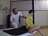 Sensual  Kasumi Okazaki fucked and tastes load picture 11
