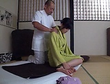 Sensual  Kasumi Okazaki fucked and tastes load picture 12
