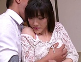 Sexy Kanako Iioka hard fucked and creamed with jizz picture 1