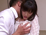 Sexy Kanako Iioka hard fucked and creamed with jizz picture 2