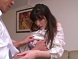 Sexy Kanako Iioka hard fucked and creamed with jizz picture 9