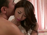 Asian milf Ayumi Shinoda enjoys position 69 and hardcore dick ride picture 12