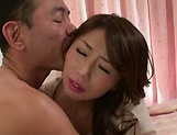 Asian milf Ayumi Shinoda enjoys position 69 and hardcore dick ride picture 13