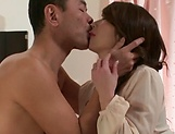 Aymi Shinoda moans while having her pussy pumped well picture 7