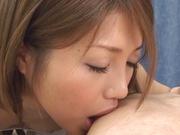 Gorgeous POV fuck along superb Misaki Aso